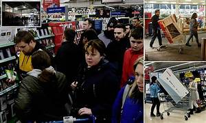 Black Friday frenzy begins! Retailers brace for impact as ...