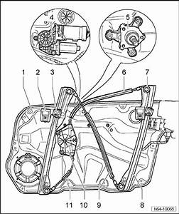 I Need An Accurate Diagram Of The Drivers Side Front  Power  Window Assembly For A 2002 Vw Jetta