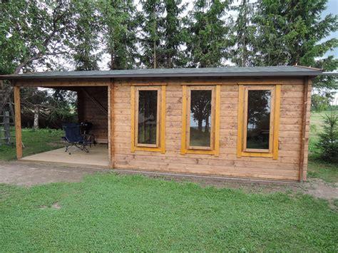 Garden Summer House With Veranda Eva E 12m²  44mm  3 X 7