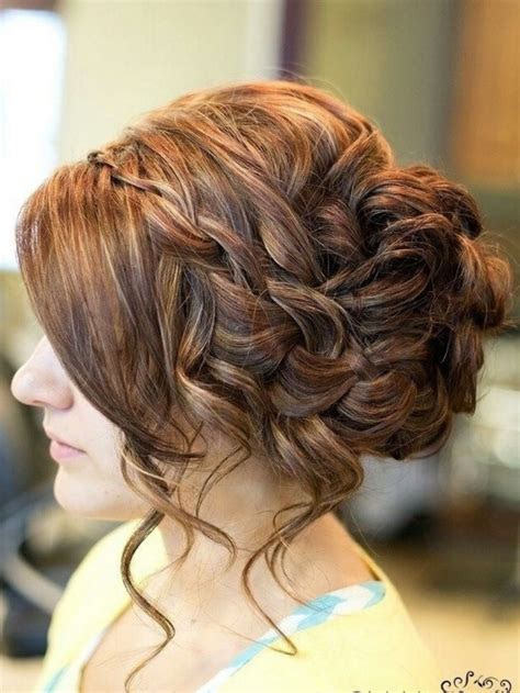 15 best ideas of messy updo hairstyles for prom