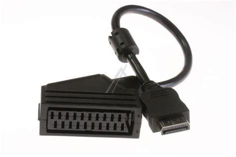 cable peritel hdmi scart c 226 ble hdmi scart peritel pour t 233 l 233 viseur panasonic