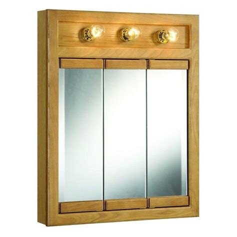 home depot medicine cabinets with lights design house richland 24 in w x 30 in h x 5 in d framed