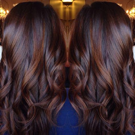hair color  brunettes ideas  pinterest