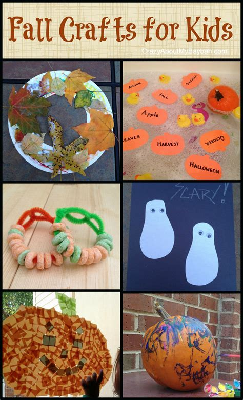 easy fall crafts  kids toddler preschool homeschool