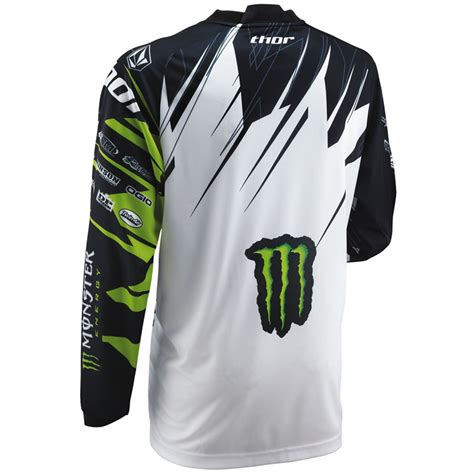 monster jersey motocross thor 2013 phase s13 youth pro circuit monster energy mx