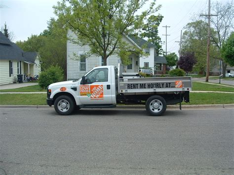 Home Depot Truck Rental Prices