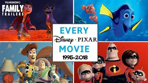 disney pixar animated feature film including