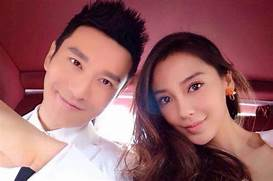 Huang Xiaoming Angelababy   newhairstylesformen2014 com  Angelababy Huang Xiaoming