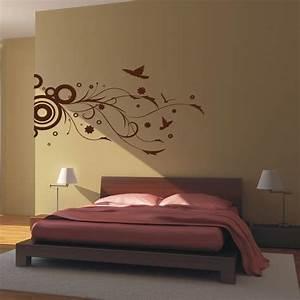 Vinyl Wall Art - Modern Floral - Decal Sticker - Home