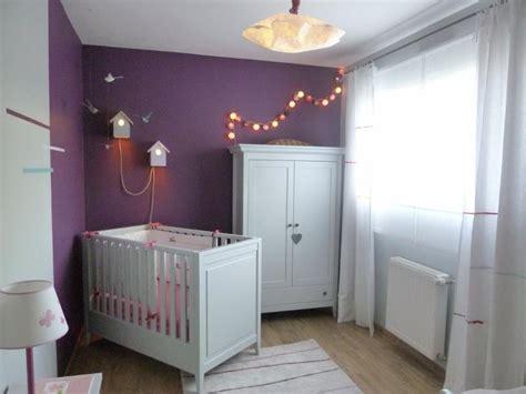 chambre grise et prune chambre de bébé gris perle créactive déco photo n 35
