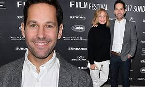 Support system! Paul Rudd joins screenwriter wife Julie at ...