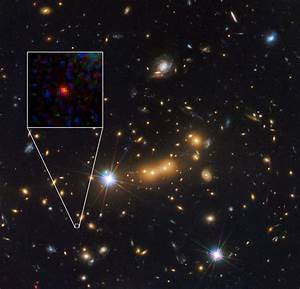 Hubble Views What is Probably the Most Distant Known Galaxy