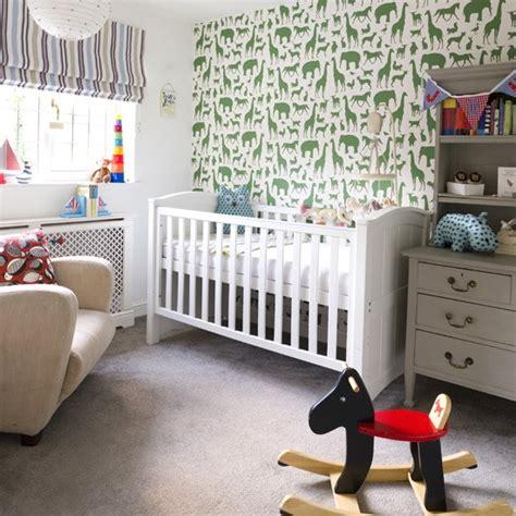Kinderzimmer Tapezieren Ideen by Nursery Wallpaper Ideas 2017 Grasscloth Wallpaper