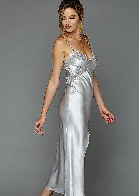 foto de Le Tresor Silk Gown Silk Long Gown in 2019 Silk gown
