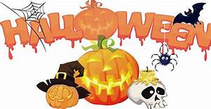 Clipart - Halloween Decorations Background