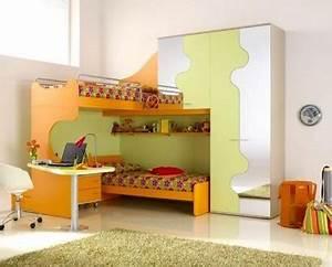 Bett Für Zwei Kinder : ergonomische kinderzimmer designs f r zwei kleinkinder angebracht ~ Sanjose-hotels-ca.com Haus und Dekorationen