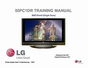 Lg 32lc7r 32lc51 32lc52 Chassis Lp78a Service Manual