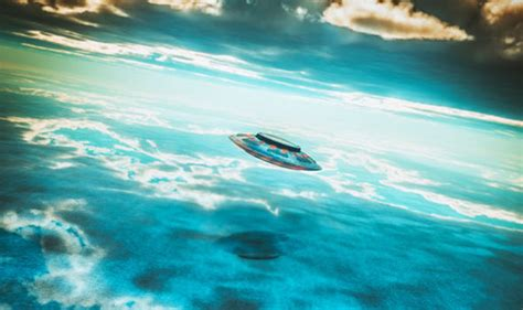Flying Ufo Boat by Ufo News Crew Report Ufo Five Times Size Of Ship Rising
