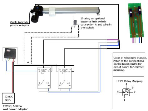 limit switch for actuator help and 12v relay wiring