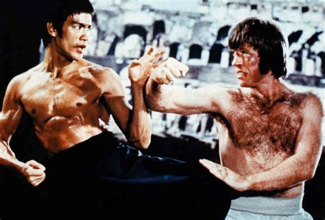 chuck norris and bruce lee fight was bruce lee an actual fighter bruce vs chuck norris