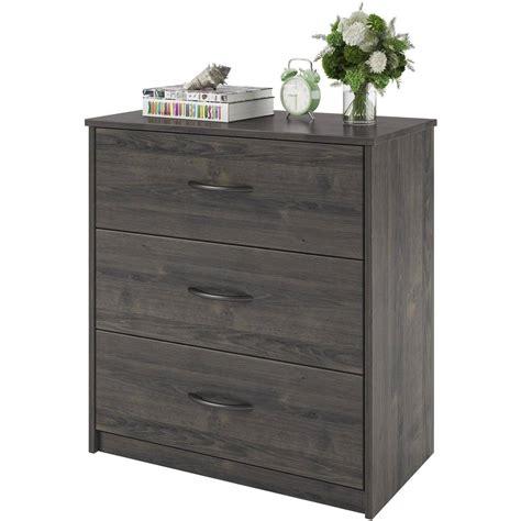 dresser chest for 3 drawer dresser chest bedroom furniture black brown white 6963