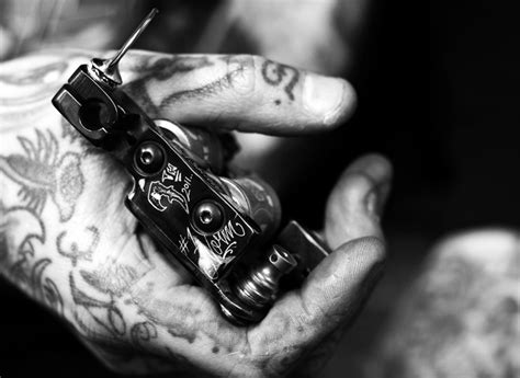 Custom Tattoo Machines By Norm At Will Rise Studio In La