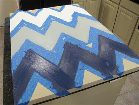 Chevron Template For Walls Diy Multi Colored Chevron Canvas With Printable Stencil
