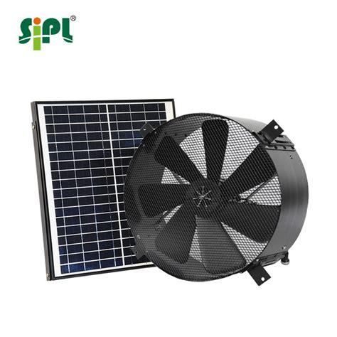 Solar Powered Garage Fan by 20w 14 Greenhouse Cooling Garage Industrial Chicken Farm