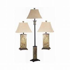 3 piece living room lamp set floor lamp end table lamps With living belize 3 light floor lamp