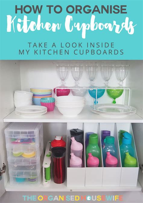 Kitchen Cupboards Organization by How To Organise Kitchen Cabinets Organised Clever