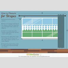 How To Measure For Drapes  Diyideacentercom
