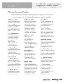 planning a wedding timeline 5 best images of free printable wedding planner worksheets wedding planning worksheet template