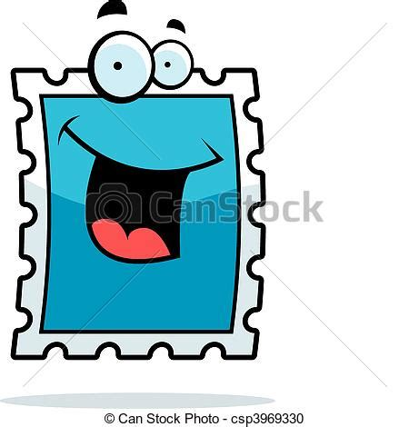 stamp smiling  cartoon postage stamp happy  smiling