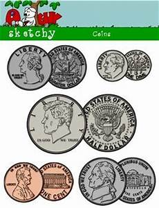 US Coin / Money Clipart | Coins, Learn to count and Count