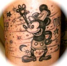 Steamboat Willie Tattoo by Dreams And Heart On Pinterest