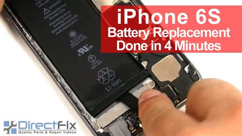 iphone  battery replacement    minutes