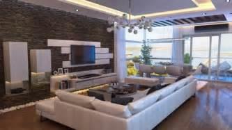 le wohnzimmer revêtement mural décoratif en dans le séjour