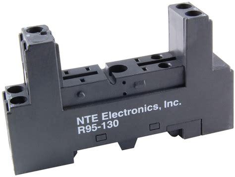 Relays Contactors Relay Socket Din Rail Mounts Nte