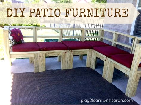 how to build a patio outdoor patio furniture covers diy furniture build your own outdoor seating