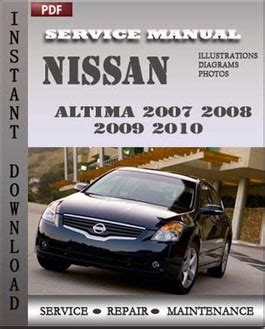 chilton car manuals free download 2007 nissan altima parking system nissan altima 2007 2008 2009 2010 hybrid service manual download servicerepairmanualdownload com