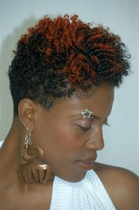 20 photo of short haircuts for natural african american hair