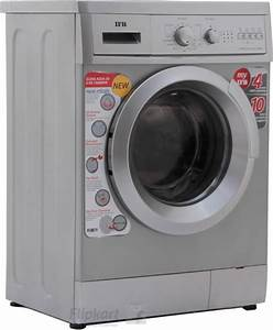 Ifb 6 Kg Fully Automatic Front Load Washing Machine Silver Price In India