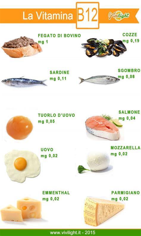 alimenti ricchi di vit b12 vivilight 187 vitamina b12 propriet 224 e cibi la contengono