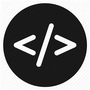 Circle, circular, code, coding, round, user interface, web ...
