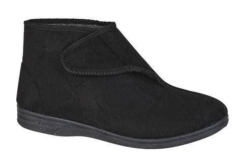 diabetic orthopaedic comfort slippers boots shoes fur