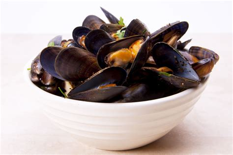 mussels  red wine  herbs  roasted shallots recipe relish