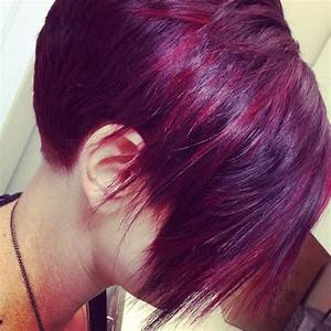 Red Violet Hair Color Photos Dark Brown Hairs Of Lanza