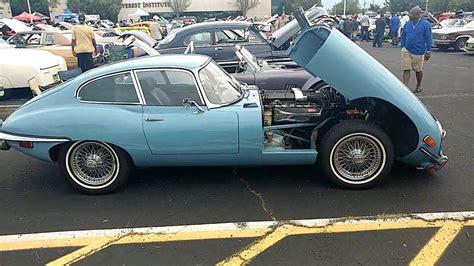Light Blue Jaguar by 1970 Light Blue Jaguar Xke E Type Bobjag