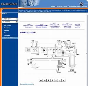 Fiat Punto 2 U00b0 Serie 188 Elearn Manuale Officina Workshop