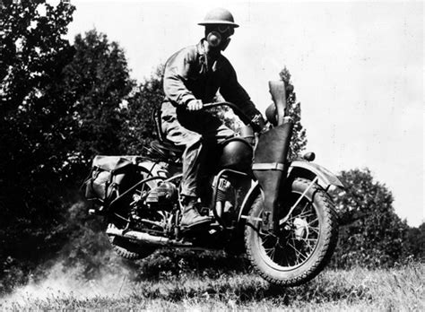 History Of Military Motorcycles